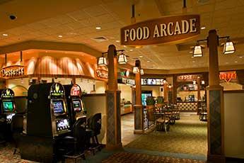 meskwaki casino food arcade